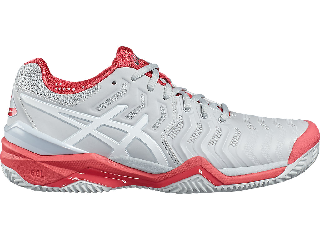 Asics Gel Resolution 7 Donna Clay Glacier Grey