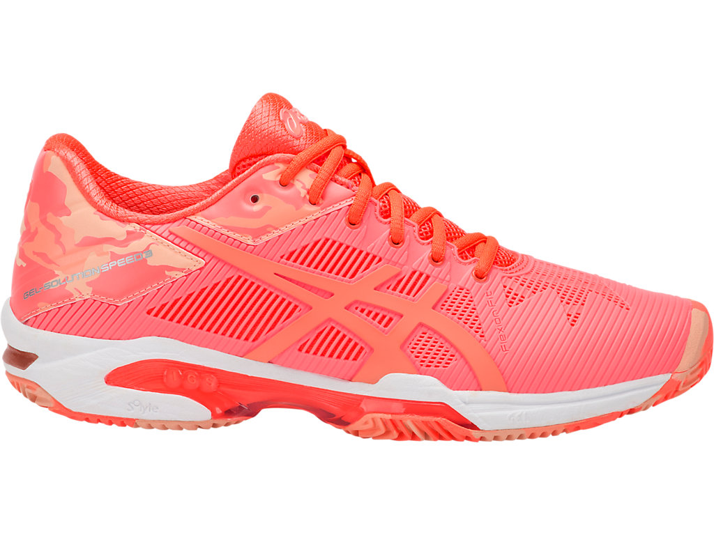 Asics Gel Solution Speed 3 L.E. Donna Clay Flash Coral