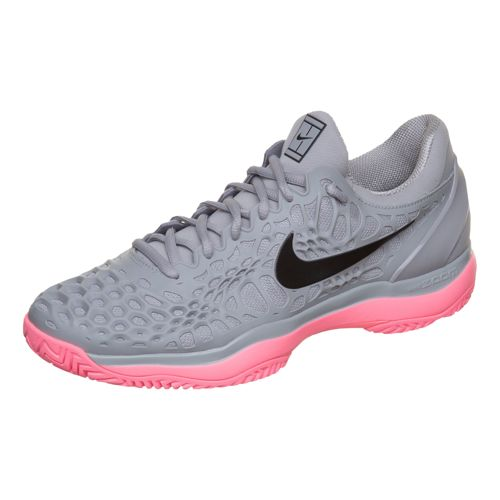 wholesale dealer 69a93 2cecb 36% Nike Air Zoom Cage 3 HC – Grey   Pink