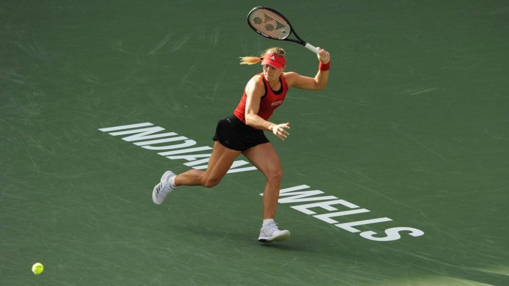 Angelique Kerber Indian Wells 2018 outfit