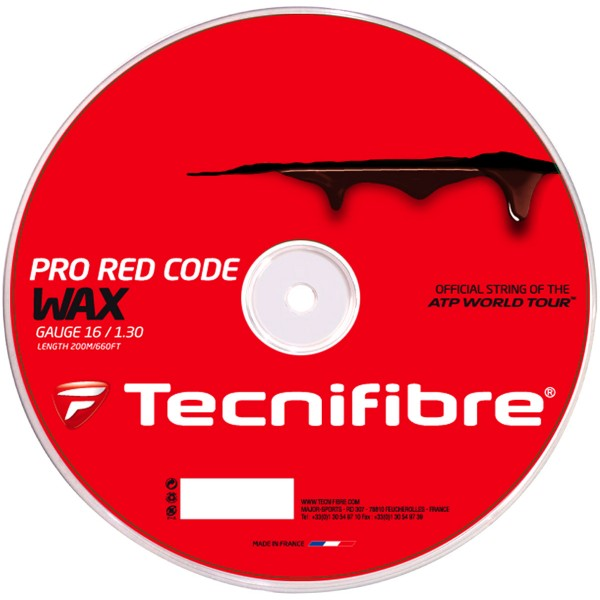 tecnifibre pro red code wax tennis scanner. Black Bedroom Furniture Sets. Home Design Ideas