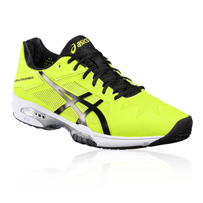 62% Asics Gel Solution Speed 3 Yellow fa5cf403bcd